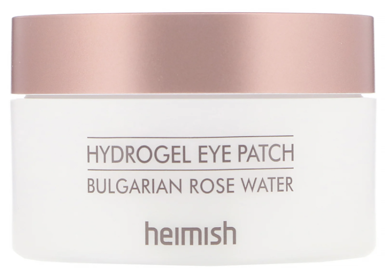 PHOTO: iHerb. Heimish, Hydrogel Eye Patch, Bulgarian Rose Water, 60 Patches