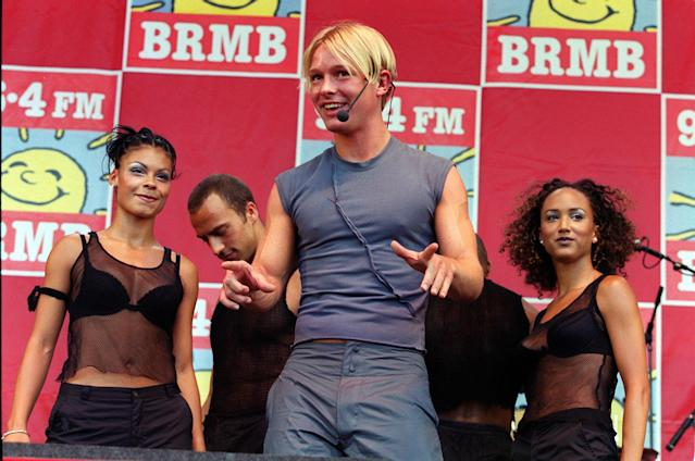 Adam Rickitt had a chart hit with 'I Breathe Again' in 1999 (PA)
