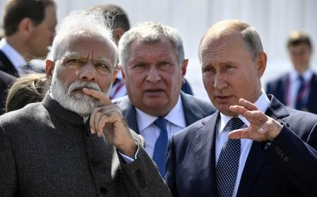 Russia, India back legitimate trade ties with Iran - RIA cites joint statement