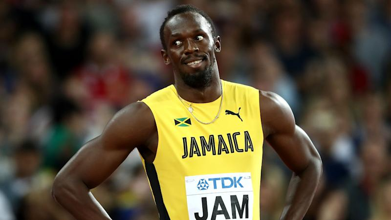 Usain Bolt ties National Football League  record for fastest 40-yard dash