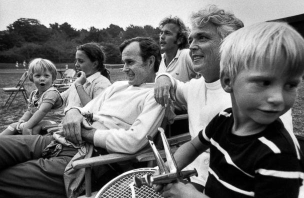 PHOTO: Ambassador George Bush enjoys time with his family. (Arthur Schatz/The Life Picture Collection via Getty Images, file)