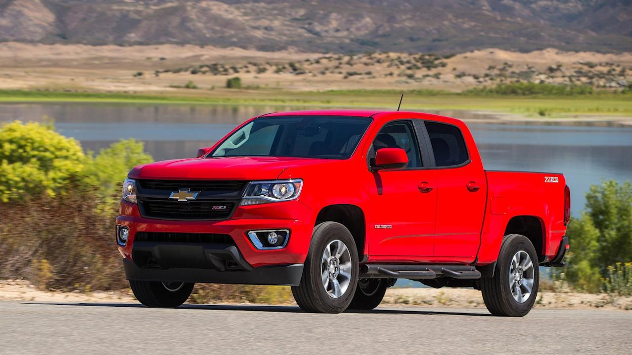 <p>iSeeCars.com says 4.1% of all Chevrolet Colorado owners get rid of their trucks within the first year of ownership, which is a little worse than average and puts Chevy's midsize pickup in 8th spot.</p>