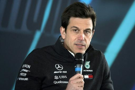 <p>Mercedes chief would take chainsaw to F1's new halo</p>