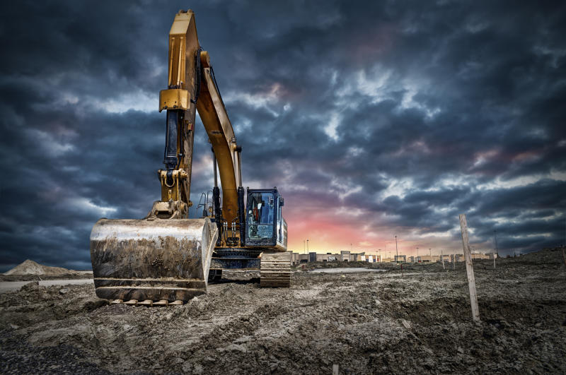 Construction machinery.