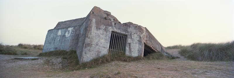 The remains of a German defense bunker on 'Juno Beach' that would have been used during the June 6, 1944 D-Day landings, on April 30, 2019 in Courseulles-sur-Mer, on the Normandy coast, France. (Photo: Dan Kitwood/Getty Images)