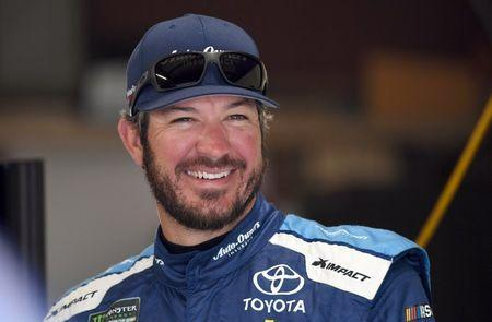 Jun 8, 2018; Brooklyn, MI, USA; NASCAR Cup Series driver Martin Truex Jr. (78) during practice for the FireKeepers Casino 400 at Michigan International Speedway. Mandatory Credit: Mike DiNovo-USA TODAY Sports