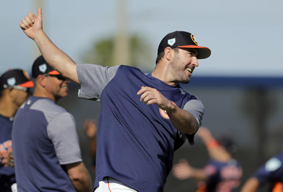 Justin Verlander isn't down with openers because that concept promises to wears down the bullpen. (AP)