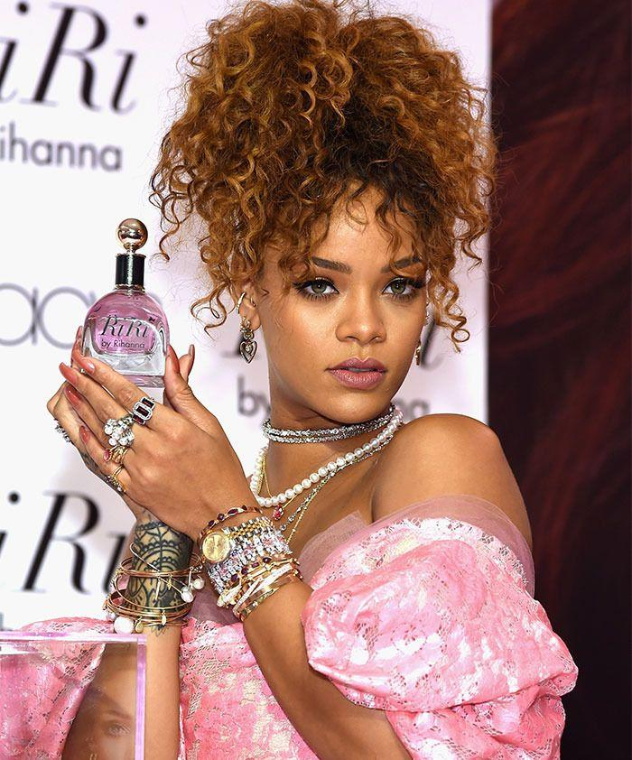 Rihanna was just trying to promote her latest fragrance. Photo: Getty Images