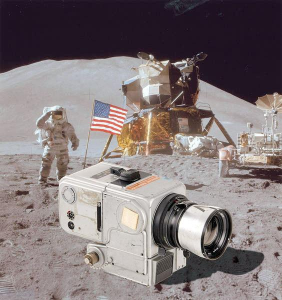 A 70-millimeter Hasselblad EDC camera claimed to be the camera used on the moon by Apollo 15 astronaut James Irwin in 1971 will be auctioned in March by Austria's WestLicht Gallery.