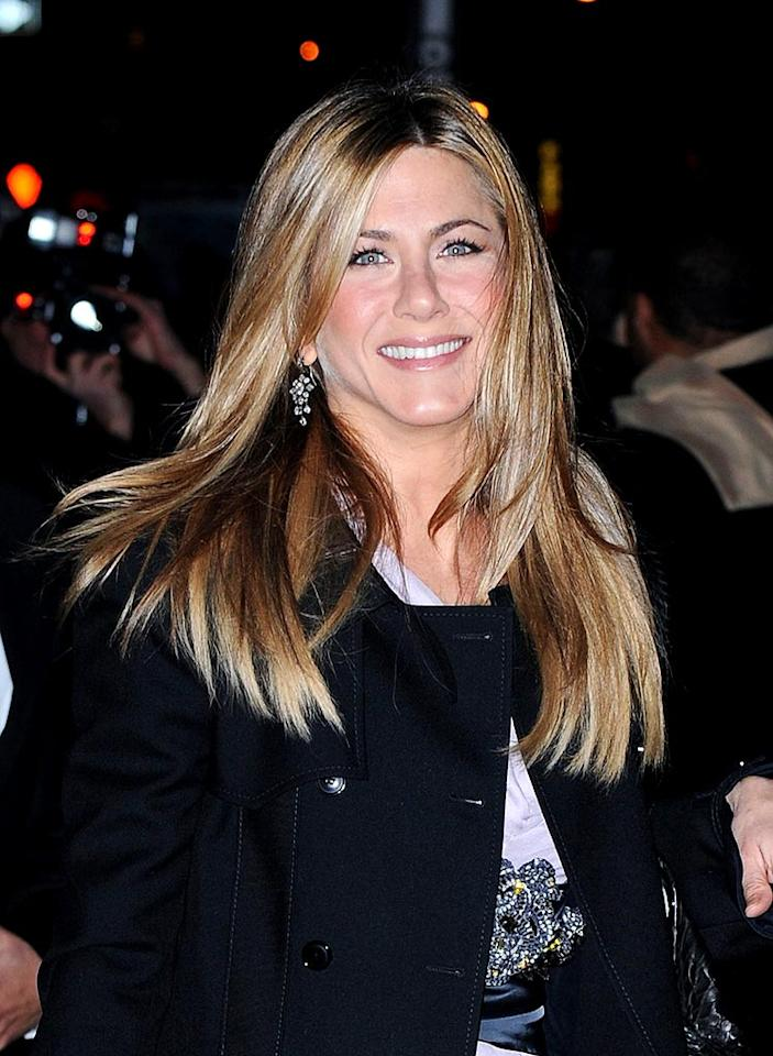 """Several sites breathlessly reported Jennifer Aniston would appear next season on Courteney Cox's show, """"Cougar Town."""" No dramatic paws here. Aniston's rep told <a href=""""http://www.gossipcop.com/rumor-puts-jennifer-aniston-in-old-friend-courteney-coxs-cougar-town/"""" target=""""new"""">Gossip Cop</a> the former """"Friends"""" star has no plans to do a guest gig, no matter how purr-fect it sounds. James Devaney/<a href=""""http://www.wireimage.com"""" target=""""new"""">WireImage.com</a> - December 17, 2008"""