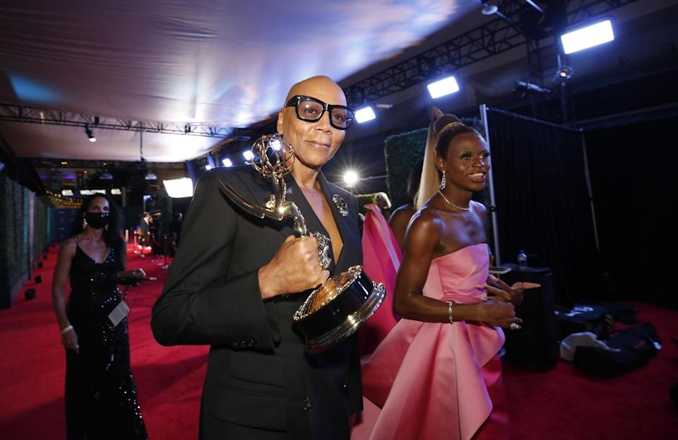 RuPaul Charles was among the big winners at the 73rd Annual Primetime Emmy Awards.