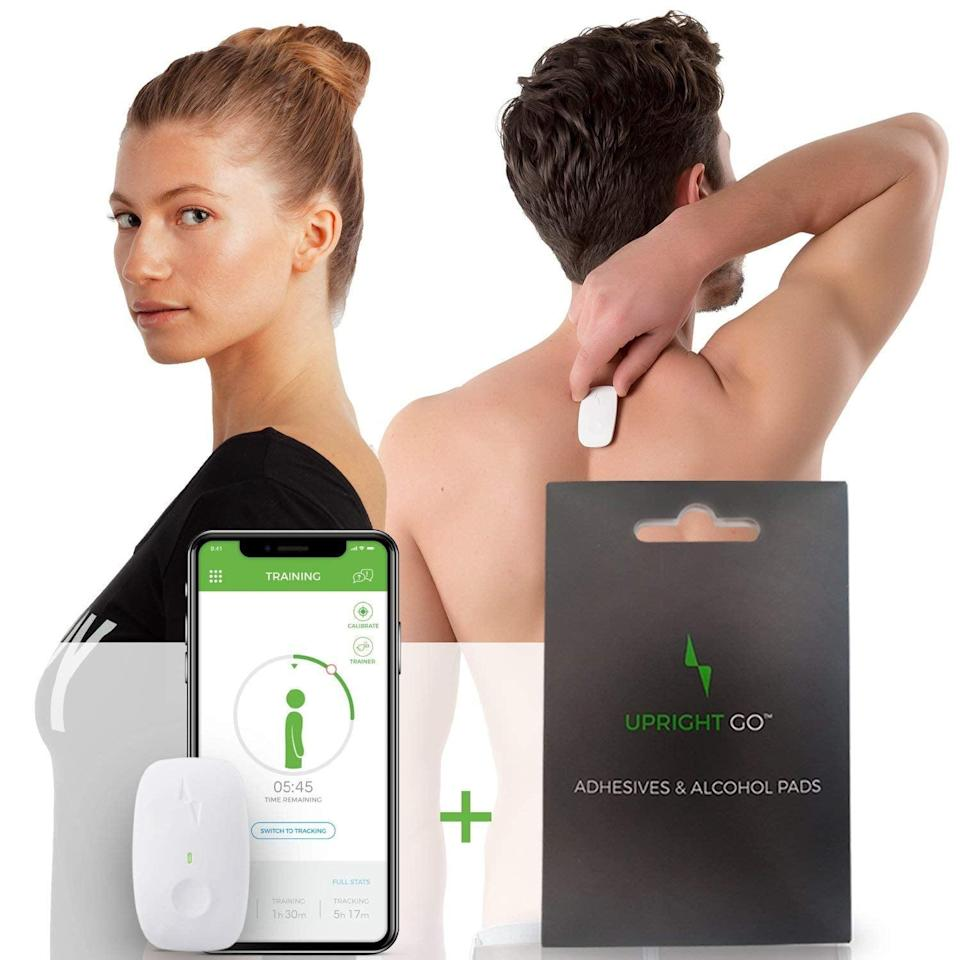 <p>The <span>Upright Go 2 Posture Trainer</span> ($100) will correct poor posture, reminding you to sit and stand straight with gentle vibration reminders. The brand claims a noticeable difference in posture will be seen in just two weeks.</p>