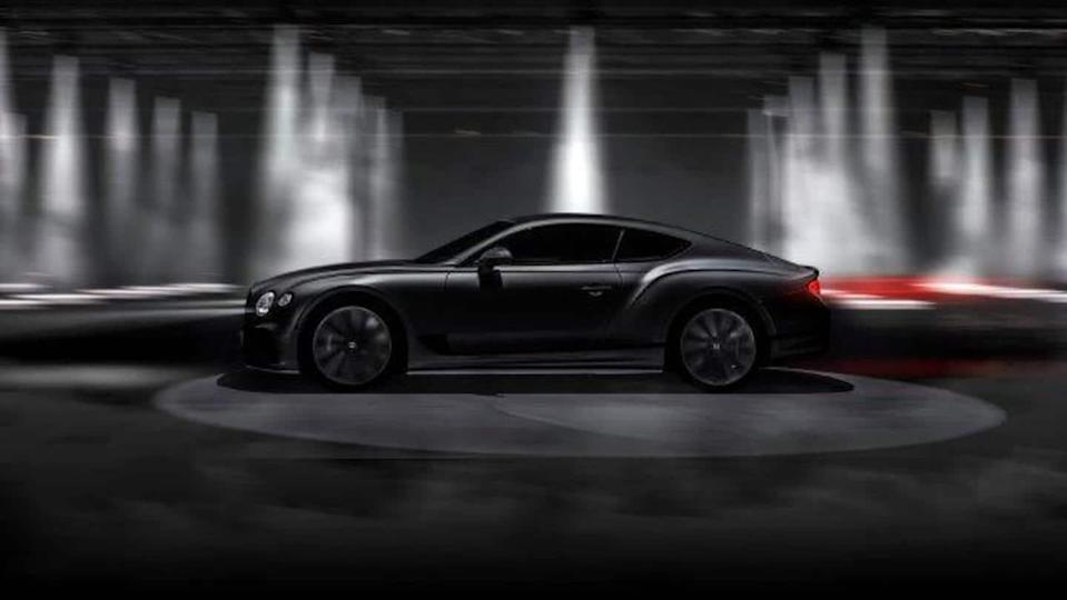 Ahead of its debut, Bentley teases Continental GT Speed coupe