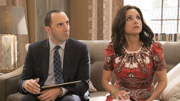 PHOTO: Tony Hale and Julia Louis-Dreyfus in a scene from 'Veep.' (HBO)
