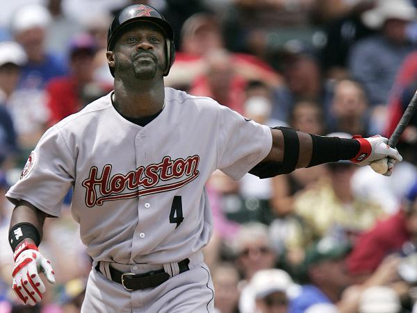 Houston Astros analyst Preston Wilson (seen here playing for Houston in 2006) apologized Saturday for using a slavery reference during the team's broadcast. (AP)