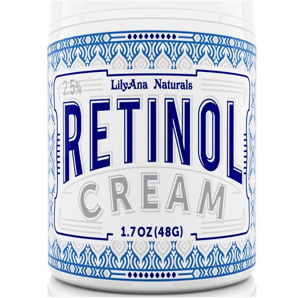 """<p>This <a href=""""https://www.popsugar.com/buy/%20LilyAna%20Naturals%20Retinol%20Cream%20Moisturizer-468802?p_name=%20LilyAna%20Naturals%20Retinol%20Cream%20Moisturizer&retailer=amazon.com&price=20&evar1=savvy%3Aus&evar9=46395616&evar98=https%3A%2F%2Fwww.popsugar.com%2Fsmart-living%2Fphoto-gallery%2F46395616%2Fimage%2F46395751%2FLilyAna-Naturals-Retinol-Cream-Moisturizer&list1=shopping%2Camazon%2Camazon%20prime%2Camazon%20prime%20day&prop13=mobile&pdata=1"""" rel=""""nofollow"""" data-shoppable-link=""""1"""" target=""""_blank"""" class=""""ga-track"""" data-ga-category=""""Related"""" data-ga-label=""""https://www.amazon.com/LilyAna-Naturals-Retinol-Cream-Moisturizer/dp/B01ES349CY/ref=gbps_img_m-6_c28b_61a9fbdb?smid=A3AIHG9BVO4YOP&amp;pf_rd_p=2981178e-93a5-47e9-ada1-844a4f7fc28b&amp;pf_rd_s=merchandised-search-6&amp;pf_rd_t=101&amp;pf_rd_i=14611812011&amp;pf_rd_m=ATVPDKIKX0DER&amp;pf_rd_r=MDQG9K55W5DFWJJK36SY"""" data-ga-action=""""In-Line Links""""> LilyAna Naturals Retinol Cream Moisturizer </a> ($20) will give you smooth, glowing skin. It was one of the top-selling beauty products.</p>"""