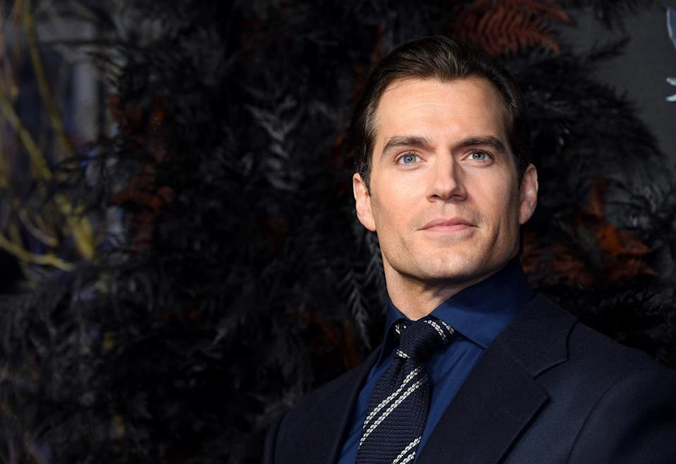 """Henry Cavill attends """"The Witcher"""" World Premiere at The Vue on December 16, 2019 in London, England."""