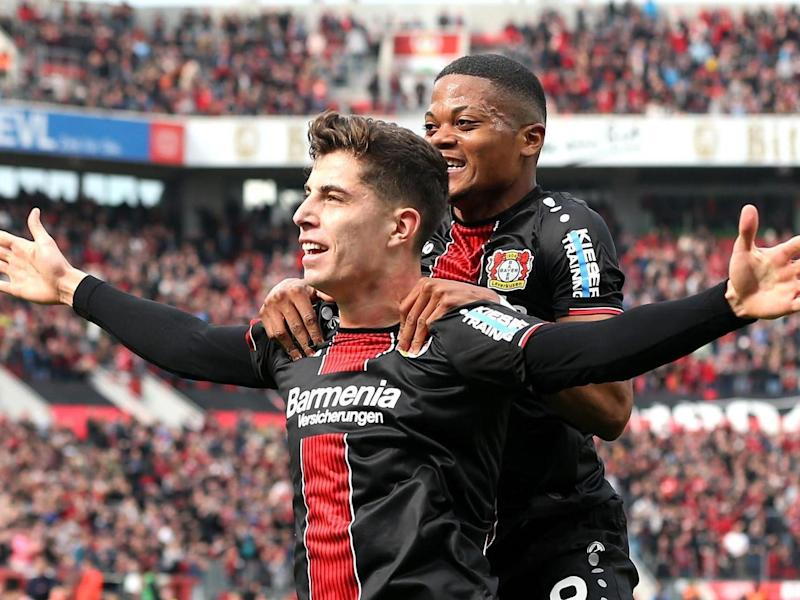 Kai Havertz is in line for a big-money move to the Premier League: Getty