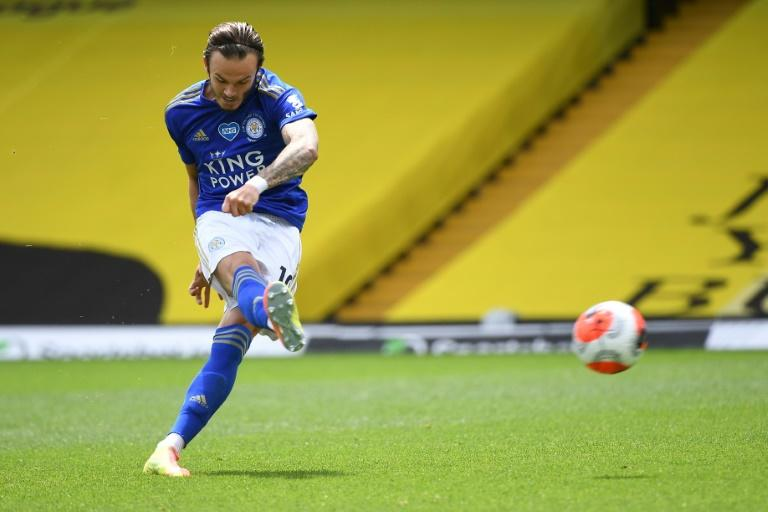 Maddison commits future to Leicester with new contract