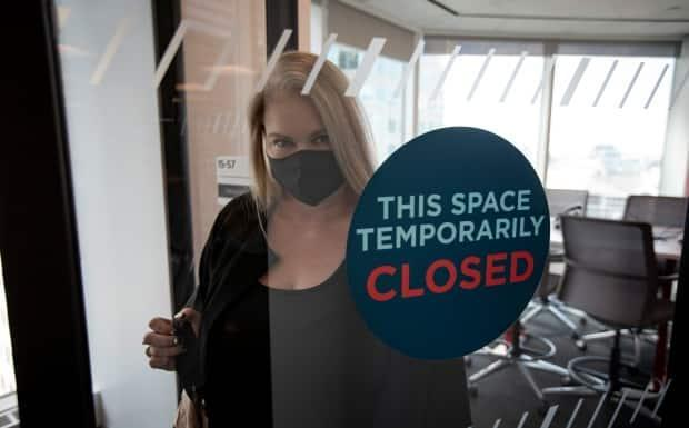 The pandemic that started in March 2020 forced millions of Canadian office workers to work from home, but that will likely not be the case forever.  (Evan Mitsui/CBC - image credit)