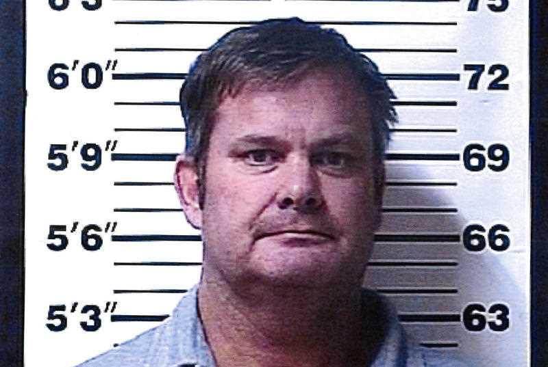 Chad Daybell's mugshot is pictured.