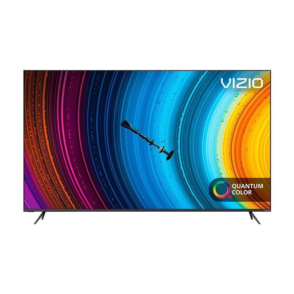 "<p><strong>VIZIO</strong></p><p>amazon.com</p><p><strong>$1199.99</strong></p><p><a href=""https://www.amazon.com/VIZIO-Quantum-Class-Smart-P65Q9-H61/dp/B08BXD41WY/?th=1&tag=syn-yahoo-20&ascsubtag=%5Bartid%7C2089.g.3047%5Bsrc%7Cyahoo-us"" rel=""nofollow noopener"" target=""_blank"" data-ylk=""slk:Shop Now"" class=""link rapid-noclick-resp"">Shop Now</a></p><p>This TV's massive display delivers one of the brightest pictures in the business. It supports up to 1,200 nits of brightness, making it a great option to use in a room with lots of windows. The TV features quantum dots for a wider color gamut, and it has 200 local dimming zones to improve its black levels and contrast performance.</p><p>Whether you want to use it for movie watching, TV viewing, or gaming, this model is a jack of all trades. It runs Vizio's SmartCast platform, which gives users quick and easy access to a wide selection of apps from Amazon Prime Video, Netflix, Disney+, and more.<br></p><p>One last thing: If the P-Series is a little out of reach for your budget, consider opting for the <a href=""https://go.redirectingat.com?id=74968X1596630&url=https%3A%2F%2Fwww.walmart.com%2Fip%2FVIZIO-55-Class-4K-UHD-Quantum-Smartcast-Smart-TV-HDR-M-Series-M55Q8-H1%2F790661639&sref=https%3A%2F%2Fwww.bestproducts.com%2Ftech%2Felectronics%2Fg3047%2Fbest-smart-tvs%2F"" rel=""nofollow noopener"" target=""_blank"" data-ylk=""slk:M-Series Quantum"" class=""link rapid-noclick-resp"">M-Series Quantum</a> instead.<br></p>"