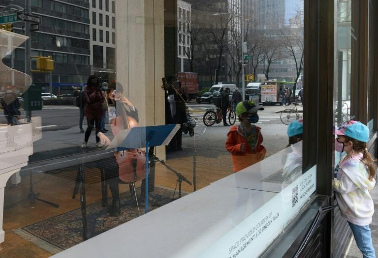 The storefront shows provide an opportunity to exchange with an audience, even if they're watching through a window from the sidewalk instead of seated in any number of the city's storied halls