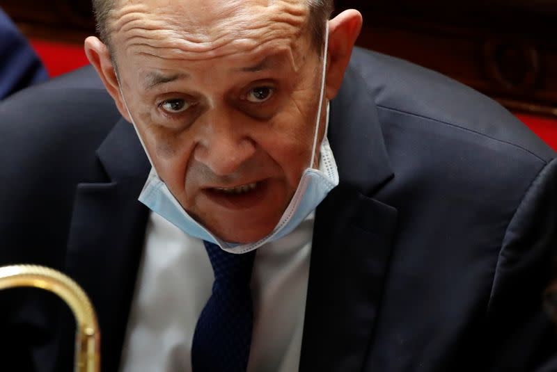 France's Le Drian says it is urgent to reach deal on Brexit