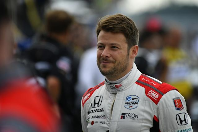 Andretti back to driving school after