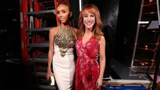 "<em>Fashion Police </em>host Kathy Griffin isn't exactly backing up Giuliana Rancic after the longtime E! television personality came under fire last month for joking that former <em>Shake It Up</em> star Zendaya Coleman's dreadlocks hairstyle at the Oscars smelled like ""patchouli oil ... or weed."" Rancic publicly apologized after Zendaya called out the 40-year-old host in an eloquent Instagram that received plenty of support from fellow celebs like Kerry Washington, Viola Davis, Chloe Moretz and Maksim Chmerkovskiy. When asked if people would have reacted so strongly if Griffin had made the joke instead of Rancic, Griffin tells the <em>Chicago Sun-Times' Splash </em>magazine, ""Probably not."" ""But I wouldn't have said the joke in the first place,"" she adds. ""Some dude wrote it for her."" VIDEO: Kelly Osbourne Opens Up About Leaving 'Fashion Police' Following Zendaya Controversy The 54-year-old comedian also says she gave an especially important piece of advice to Rancic following the backlash. ""Don't have anyone write you jokes or even suggest jokes for you on <em>Fashion Police</em>,"" she says. ""You have enough great insider gossip from actually being ON the red carpet. That's what fans want to hear the next day. Just talk and be yourself."" Griffin admits the long-running E! show can be dated, revealing that the show wanted to have a running segment called ""Whore Score"" but she refused. ""My approach is ALWAYS to go for the laugh, be as inappropriate as possible, but also change with the times,"" she explains. ""Comedy requires evolution as much as any business. My goal would be to bring the comedic sensibility of any show I enter or take over into a more modern way of thinking … and laughing. The show wanted to do a running segment called 'Whore Score.' Um, no thanks. I think we can do better."" As for Kelly Osbourne's outspoken comments that she was unhappy about the controversy -- then subsequently quitting <em>Fashion Police </em>after five years on the show -- Griffin says she doesn't know if Rancic's comments directly caused Osbourne's departure. ""Sometimes she seemed very upset at the merely seven tapings of <em>Fashion Police</em> we did together,"" she commented. ""I can tell you this: I adore that family. ... Kelly came to my house a couple of times when Joan was in the hospital and we were consoling each other. I can tell you there was genuine love there."" NEWS: Jennifer Lawrence Speaks Out Against 'Fashion Police' Zendaya, 18, accepted Rancic's apology late last month, writing, ""Giuliana, I appreciate your apology and I'm glad it was a learning experience for you and for the network."" Watch the video below to hear more on the <em>Fashion Police </em>controversy."