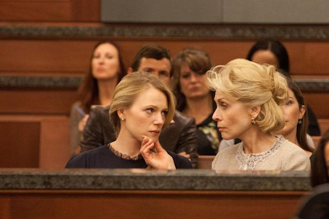 "Emma Bell and Judith Light in the ""Dallas"" Season 2 episode, ""Trial and Error."""
