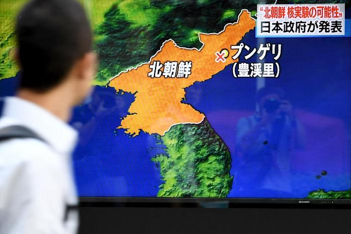 The idea that Japan and South Korea should develop their own nuclear deterrents, once taboo, has gained currency since North Korea's latest atomic test (AFP Photo/Toshifumi KITAMURA)