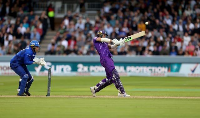 Harry Brook starred with the bat for Northern Superchargers in the inaugural Hundred