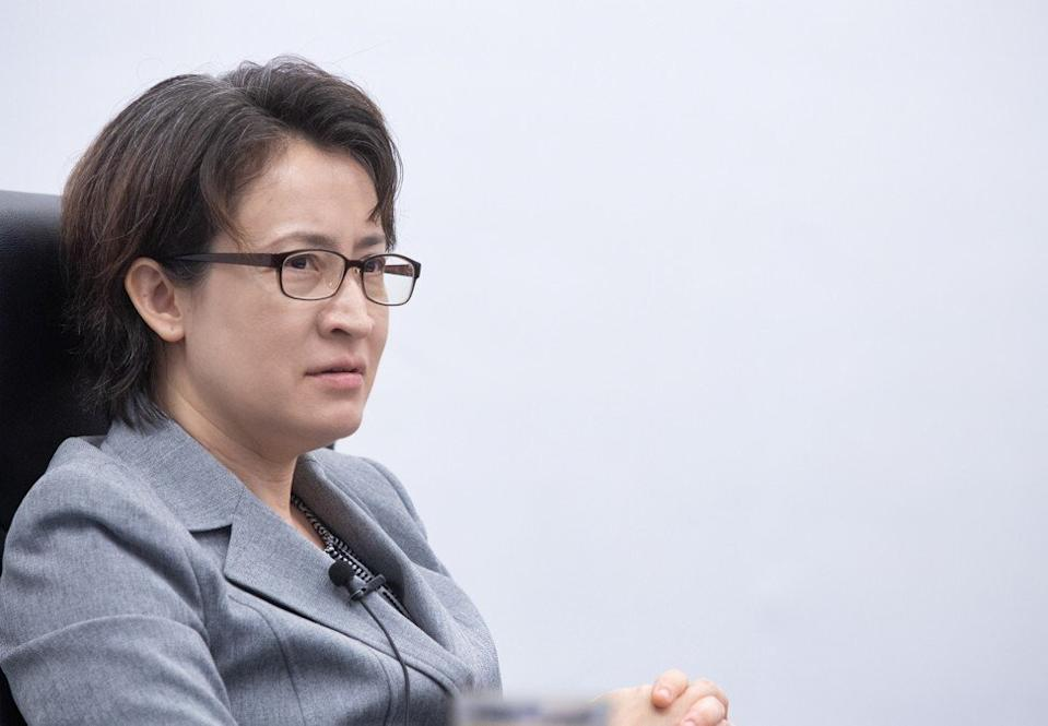 Hsiao Bi-khim was appointed by President Tsai Ing-wen to head the Taipei Economic and Cultural Representative Office in Washington. Photo: CNA