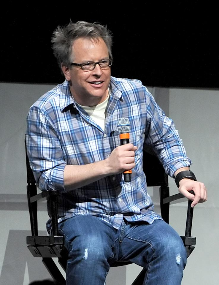 """SAN DIEGO, CA - JULY 12:  Director Rich Moore speaks at the """"Wreck-It Ralph"""" panel during Comic-Con International 2012 at San Diego Convention Center on July 12, 2012 in San Diego, California.  (Photo by Kevin Winter/Getty Images)"""