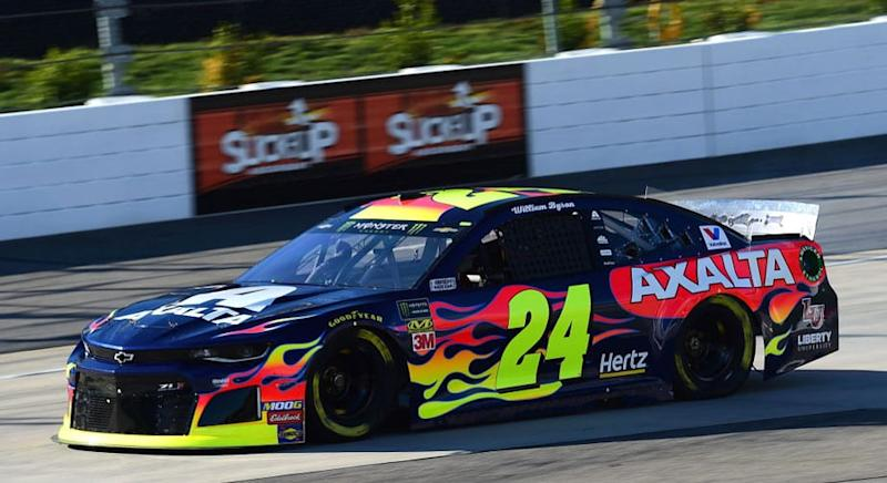 MARTINSVILLE, Va. -- The No. 24 Chevrolet of driver William Byron failed pre-race inspection Sunday morning at Martinsville Speedway, dropping the car to the bottom of the starting lineup for Sunday's STP 500 (2 p.m. ET, FS1, MRN, SiriusXM). After the inspection failure for mechanical measurements, NASCAR officials disallowed the car's speed posted in Saturday's […]