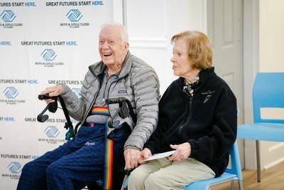 In honor of former President Jimmy Carter's 96th birthday on October 1, Maytag brand is donating a full suite of kitchen appliances to the Boys & Girls Clubs of Albany Jimmy & Rosalynn Carter Unit.