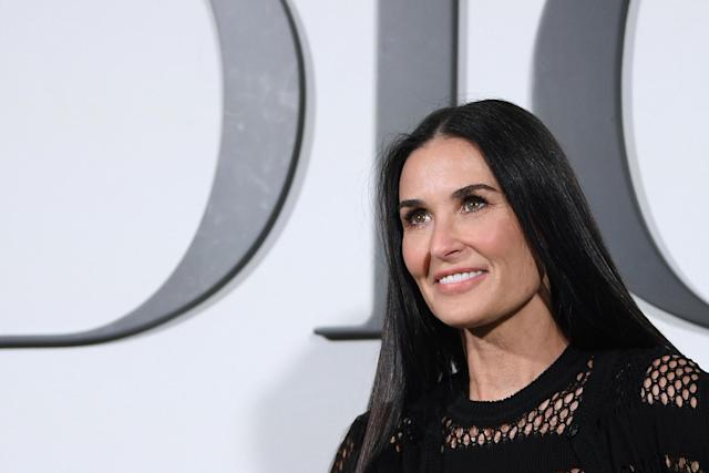 Demi Moore (Photo by ANNE-CHRISTINE POUJOULAT/AFP via Getty Images)