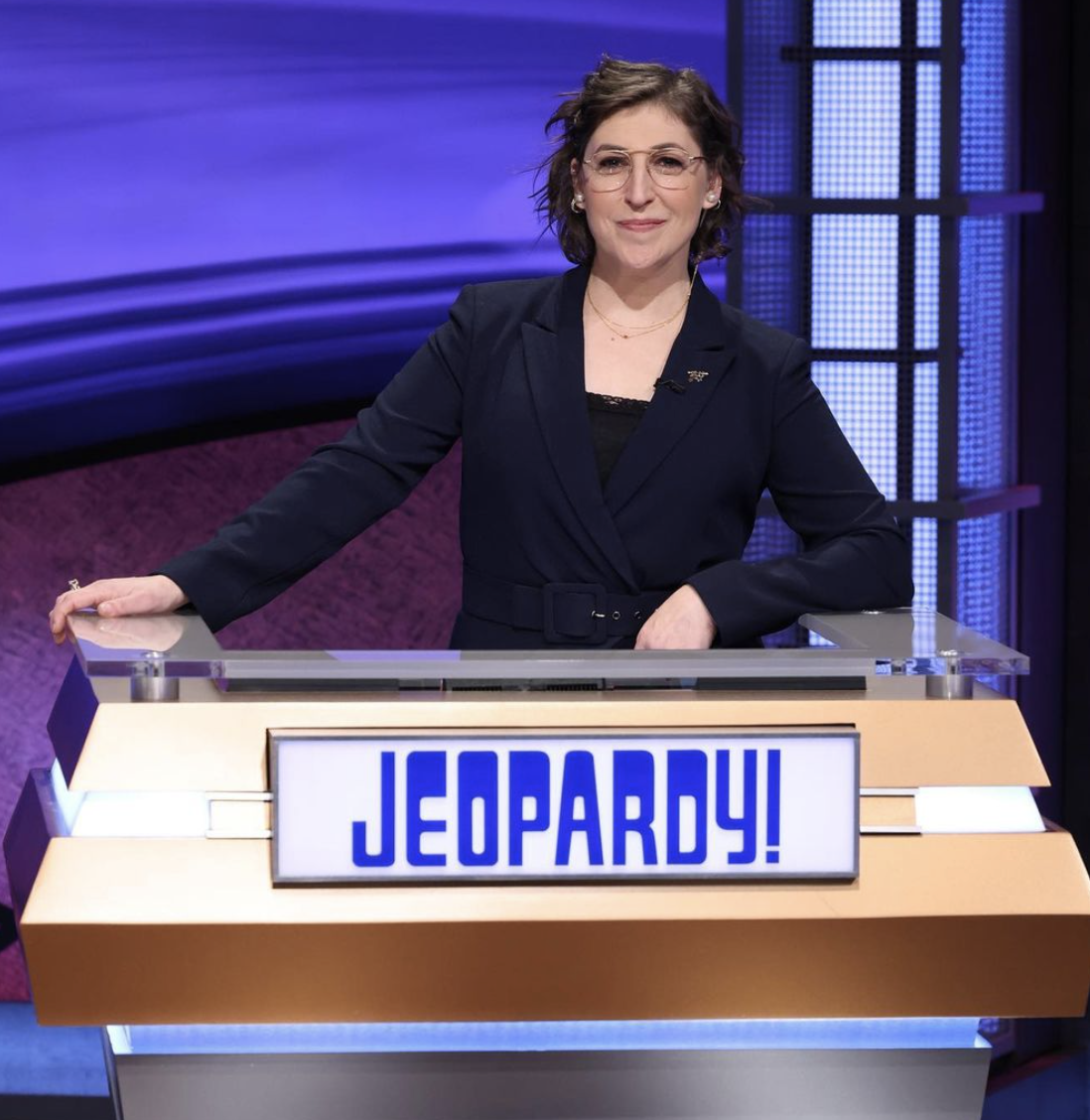 Mayim Bialik is filling in as the host of