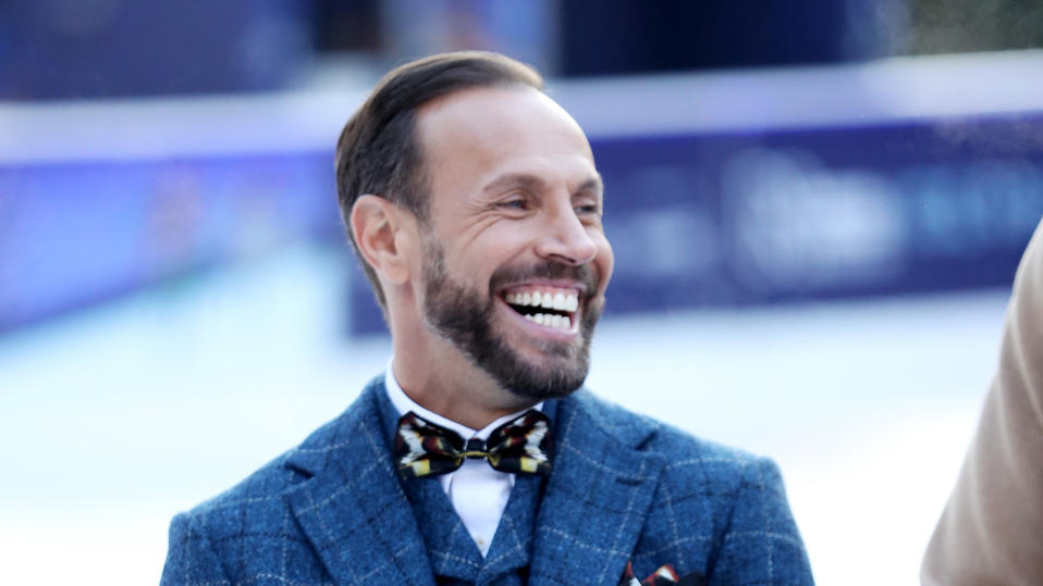 Jason Gardiner is seen during the 'Dancing On Ice' photocall held on December 19, 2017. (Photo by Chris Jackson/Getty Images)
