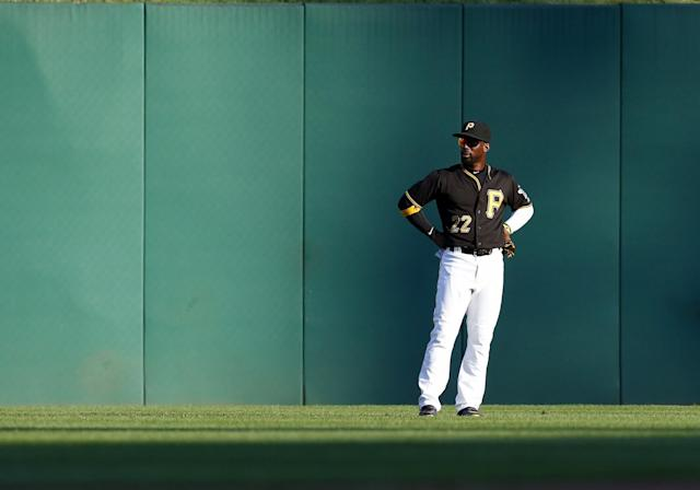 Former MVP Andrew McCutchen is also having a bad season defensively. (Getty Images)