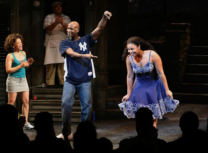 """Singer/actress Jordin Sparks makes her debut in """"In The Heights"""" on Broadway at the Richard Rodgers Theatre on August 19, 2010 in New York City."""