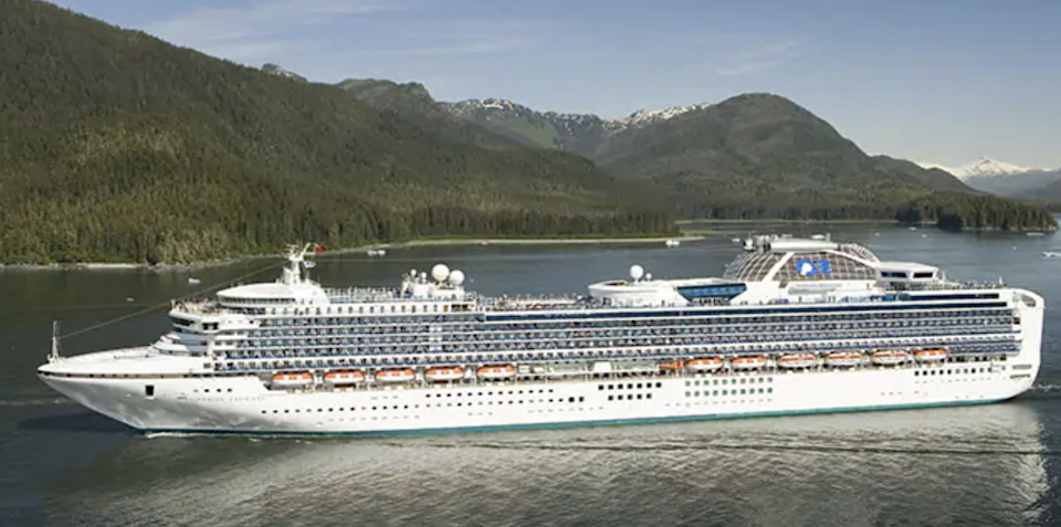 About turn: as with many cruise ships, Sapphire Princess has changed her planned voyage: Princess Cruises
