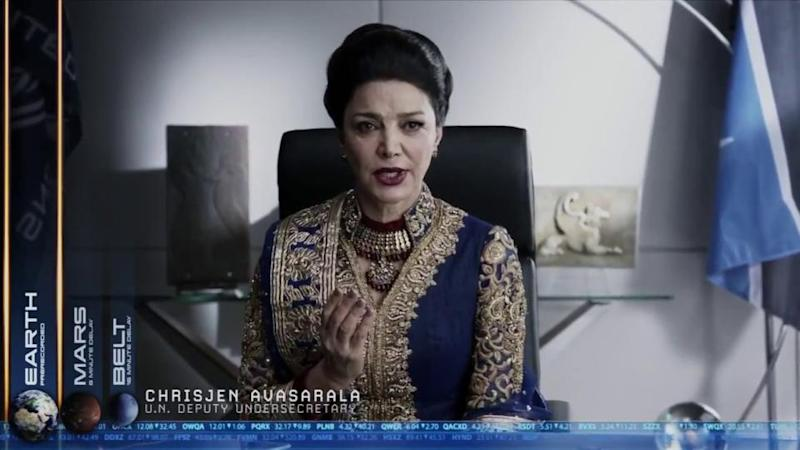 chrisjen avasarala the expanse rocinante season 3