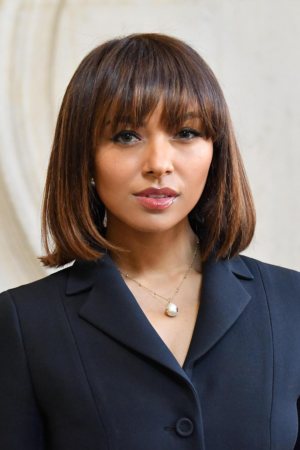 Seriously, blunt bangs and a polished lob will never not be a killer combo.