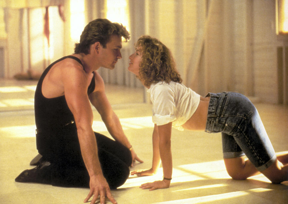 Patrick Swayze and Jennifer Grey in the 1987 favorite Dirty Dancing (Photo: Artisan Entertainment/Courtesy Everett Collection)