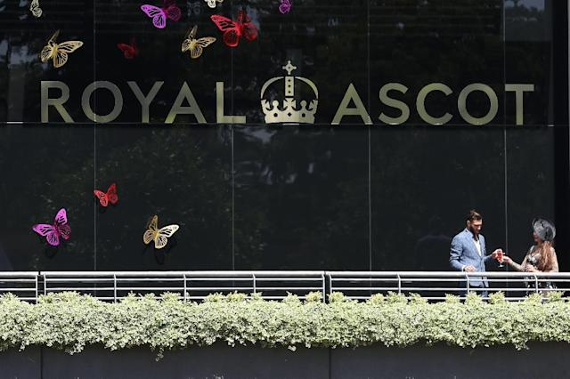 Mark Johnston has won three classics and 43 races at the world's most famous racing festival Royal Ascot (AFP Photo/Daniel LEAL-OLIVAS)