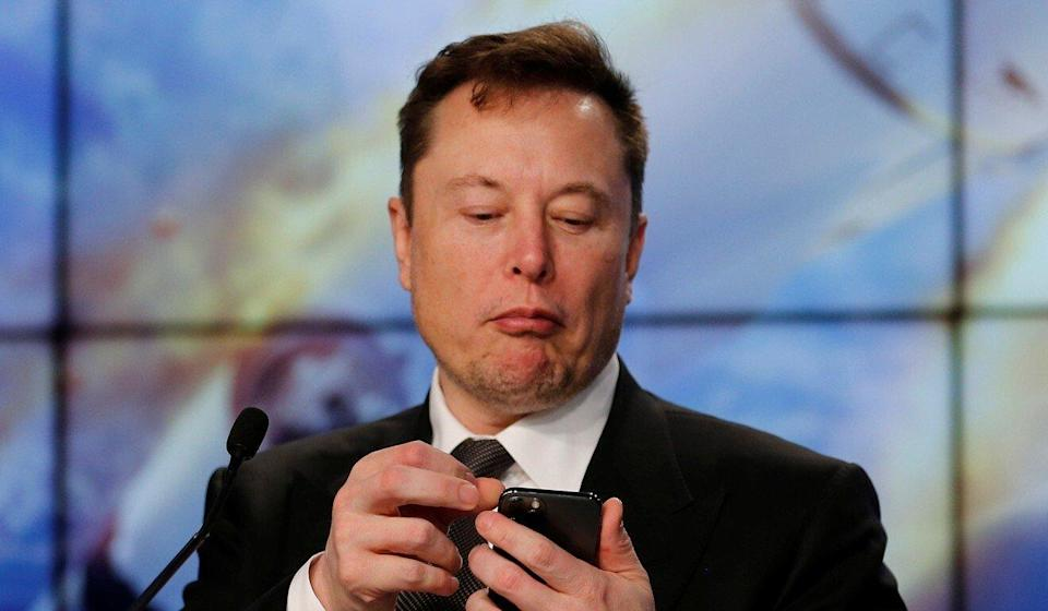 SpaceX founder and chief engineer Elon Musk (seen in January last year) joined Clubhouse on Monday, the same day stock rocketed by 30 per cent on Friday's closing price. Photo: Reuters
