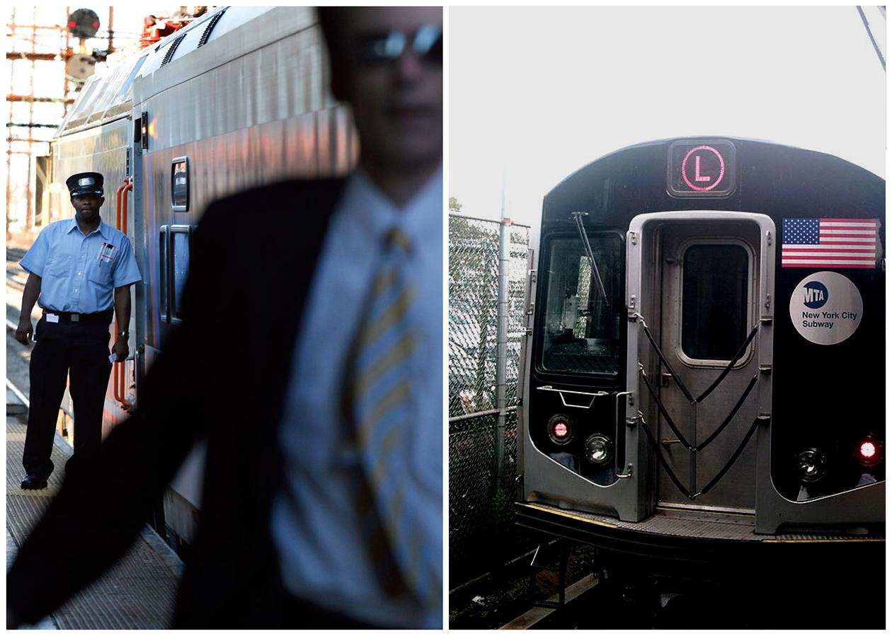 <b>Train Conductor</b> <br> <br> A train conductor in 2011, in New Brunswick, N.J., and right, A fully automated subway train in Brooklyn, NY. Many of mass transit in United States have already automated system in place; some are running in semi-auto mode to reduce the numbers of human operators. The L line in the New York City subway system has begun full automatic train operation in 2012.  <br><br> BLS Job Outlook, 2010-20: 1% <br><br> Employment Change, 2010-20: 500