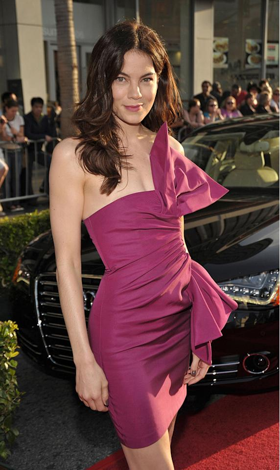 """<a href=""""http://movies.yahoo.com/movie/contributor/1804504037"""">Michelle Monaghan</a> at the Los Angeles premiere of <a href=""""http://movies.yahoo.com/movie/1810026429/info"""">Iron Man 2</a> - 04/26/2010"""